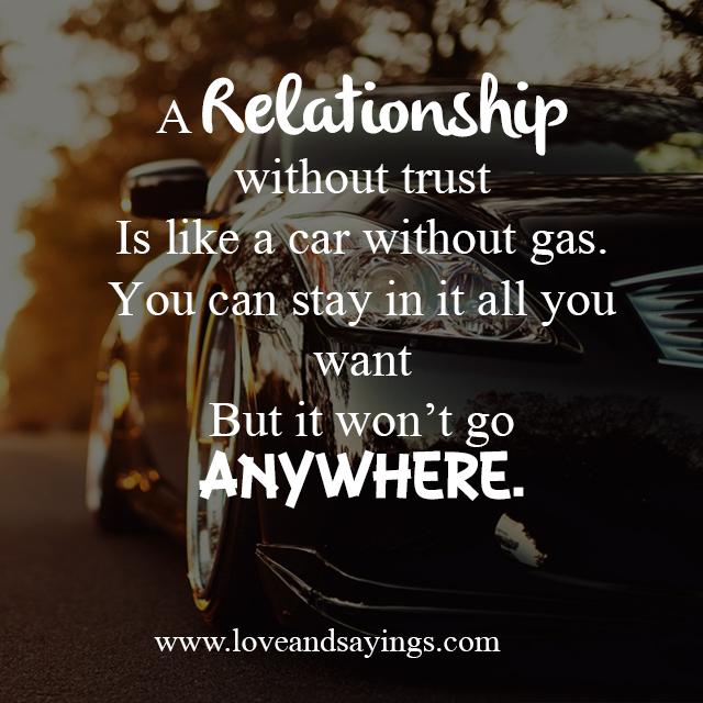 Trusting Relationship Quotes