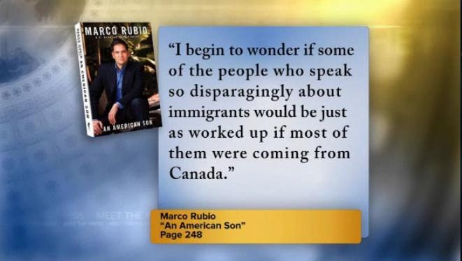 Marco rubio immigration quotes