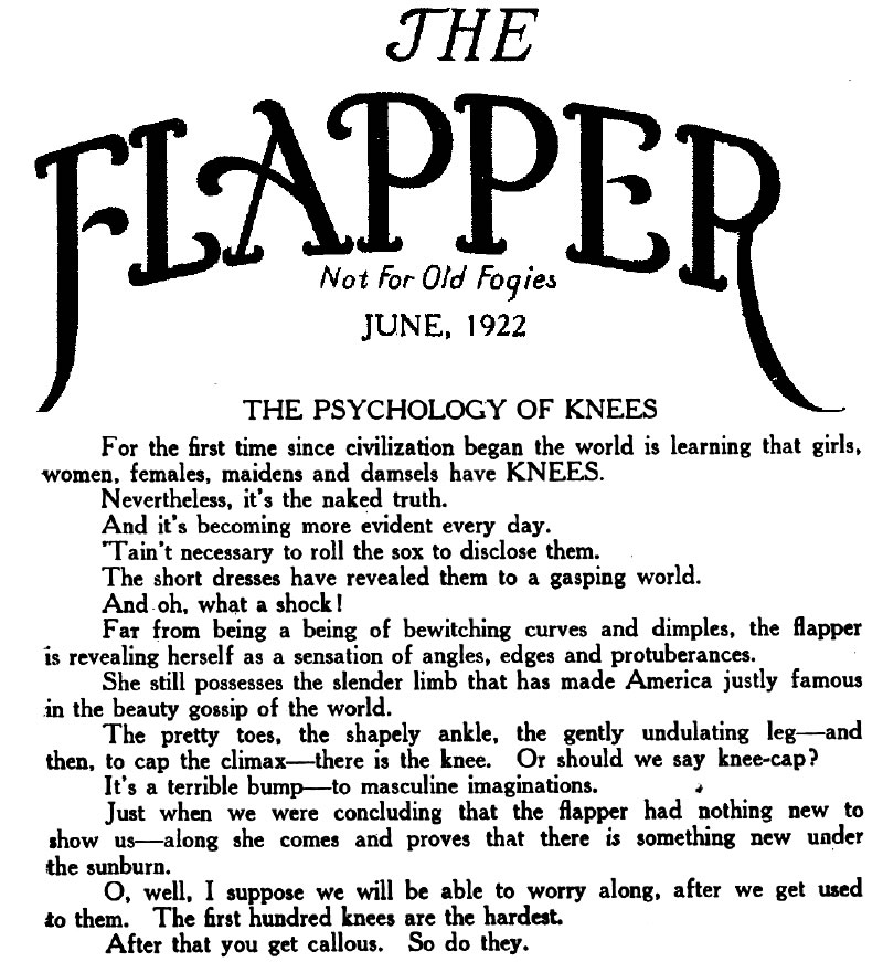 did flappers have a positive effect How did the flapper emphasize individuality a positive development for women how did this demographic trend affect attitudes about sexuality.
