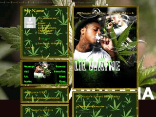 Lil Wayne Smoking Colorful Weed Lil Wayne Quotes About...