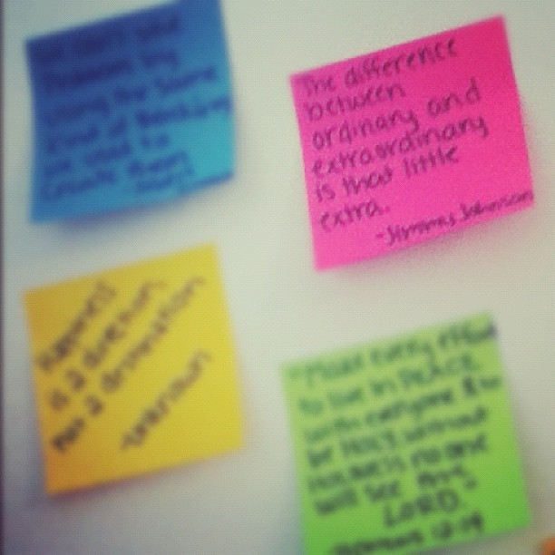 Quotes On Sticky Notes: Quotes About Sticky Notes. QuotesGram