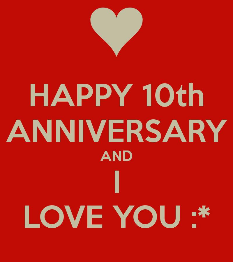 Happy 10th Anniversary Quotes. QuotesGram