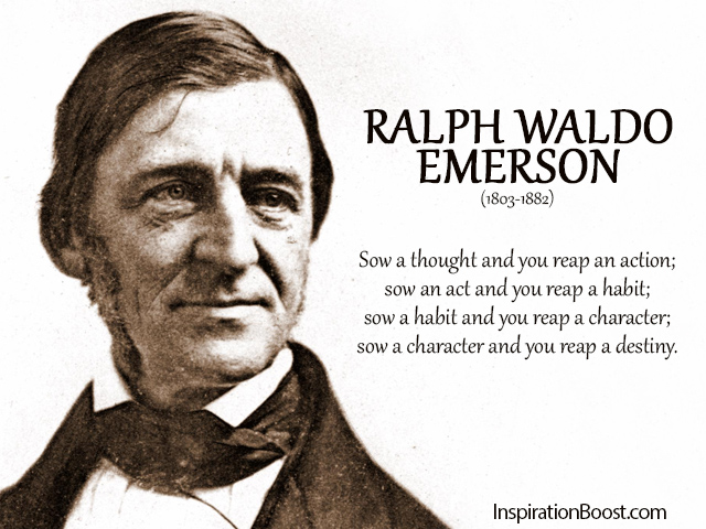 an overview of the ralph waldo emerson and henry david thoreau on the lecture Ralph waldo emerson  henry david thoreau,  emerson's moral summary of napoleon's sounds a great deal like whitman: .