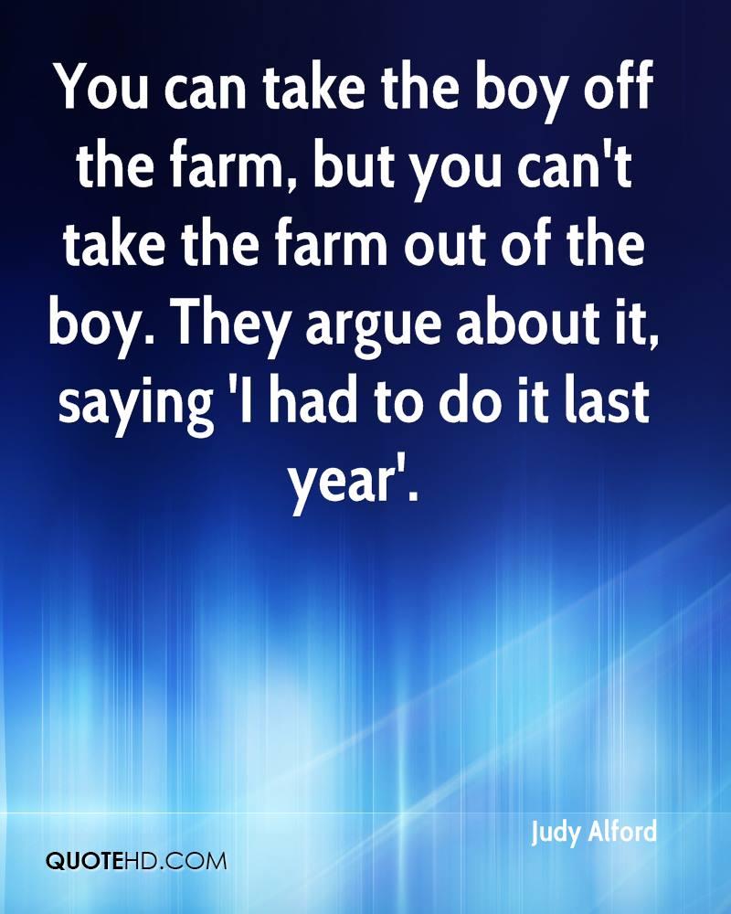 Young Farm Boy Quotes. QuotesGram