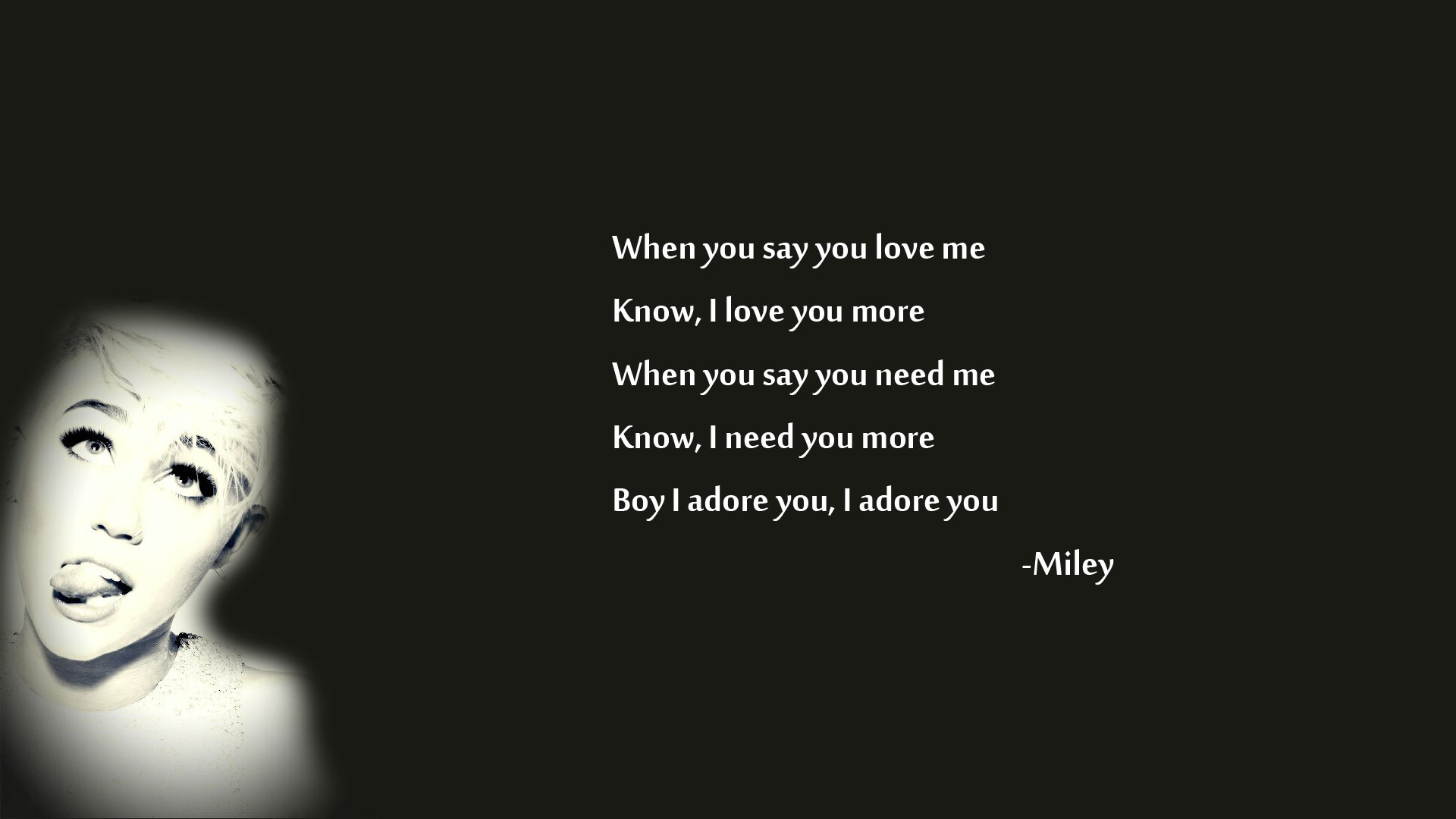 Miley Cyrus Bangerz Quotes. QuotesGram