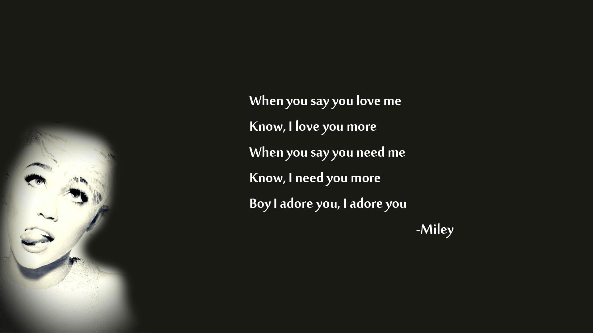 Miley Cyrus Bangerz Quotes. QuotesGram