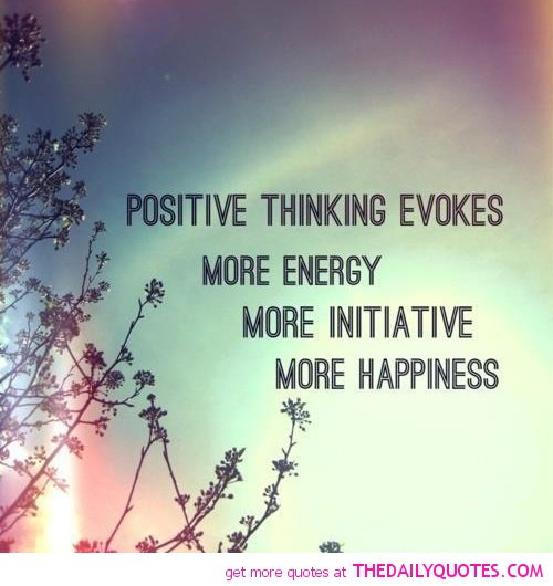 Always Keep Positive Attitude Quotes: Poem Of Positive Thinking Quotes. QuotesGram