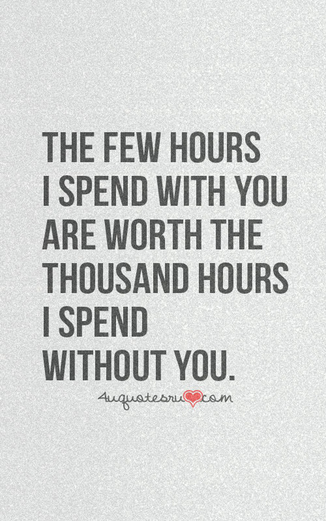 spending time together in a relationship quotes