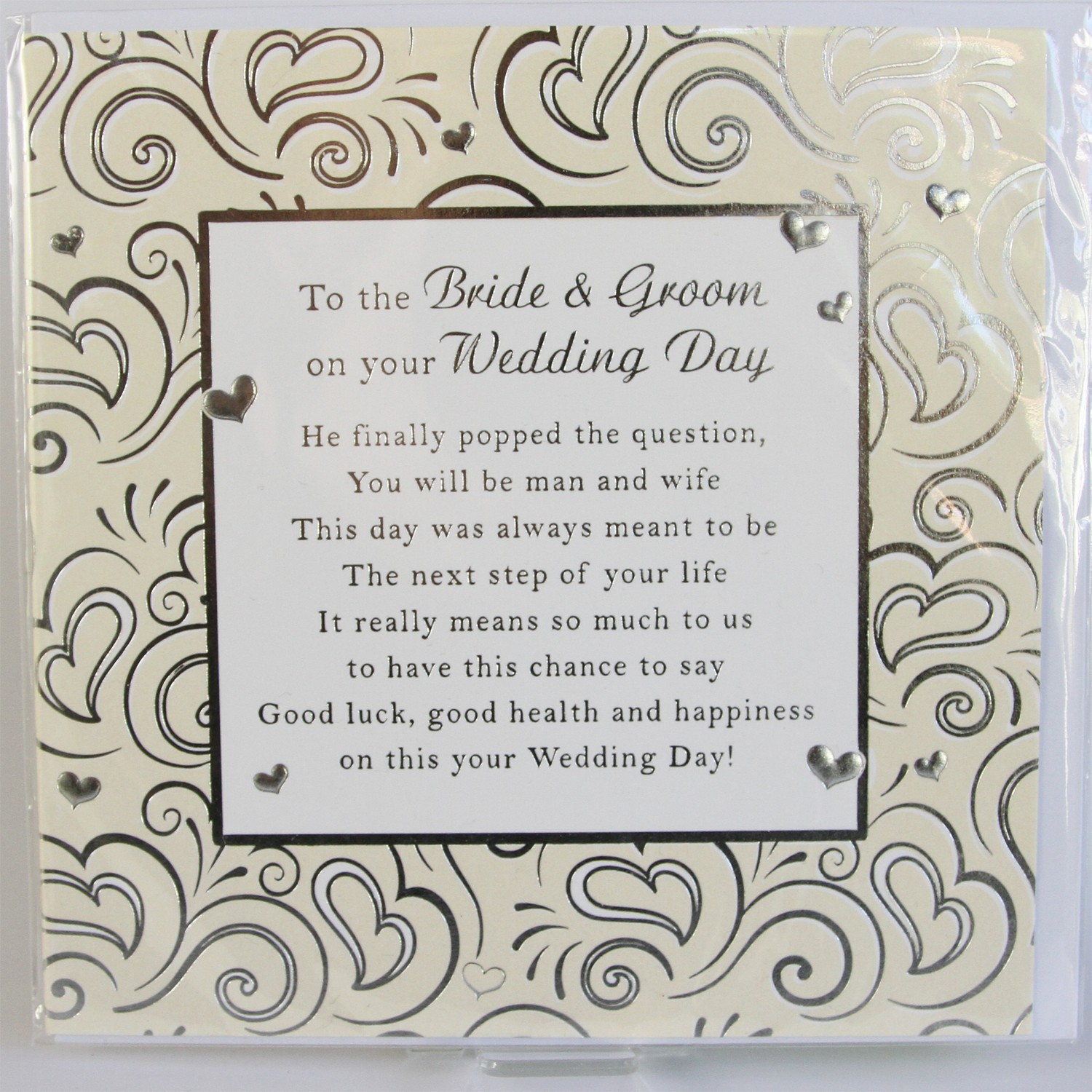 On our my wife wedding poem to day 12 Romantic