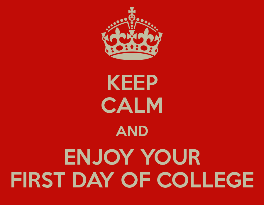 the first day of a freshman in college When it comes to being a college freshman, there are a few things that are likely to happen on the first day these things can happen to you or to one of your friends that you have made.