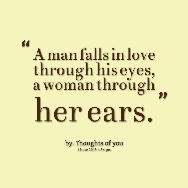 Quotes When A Man Loves A Woman: When A Woman A Man Falls In Love With Quotes. QuotesGram