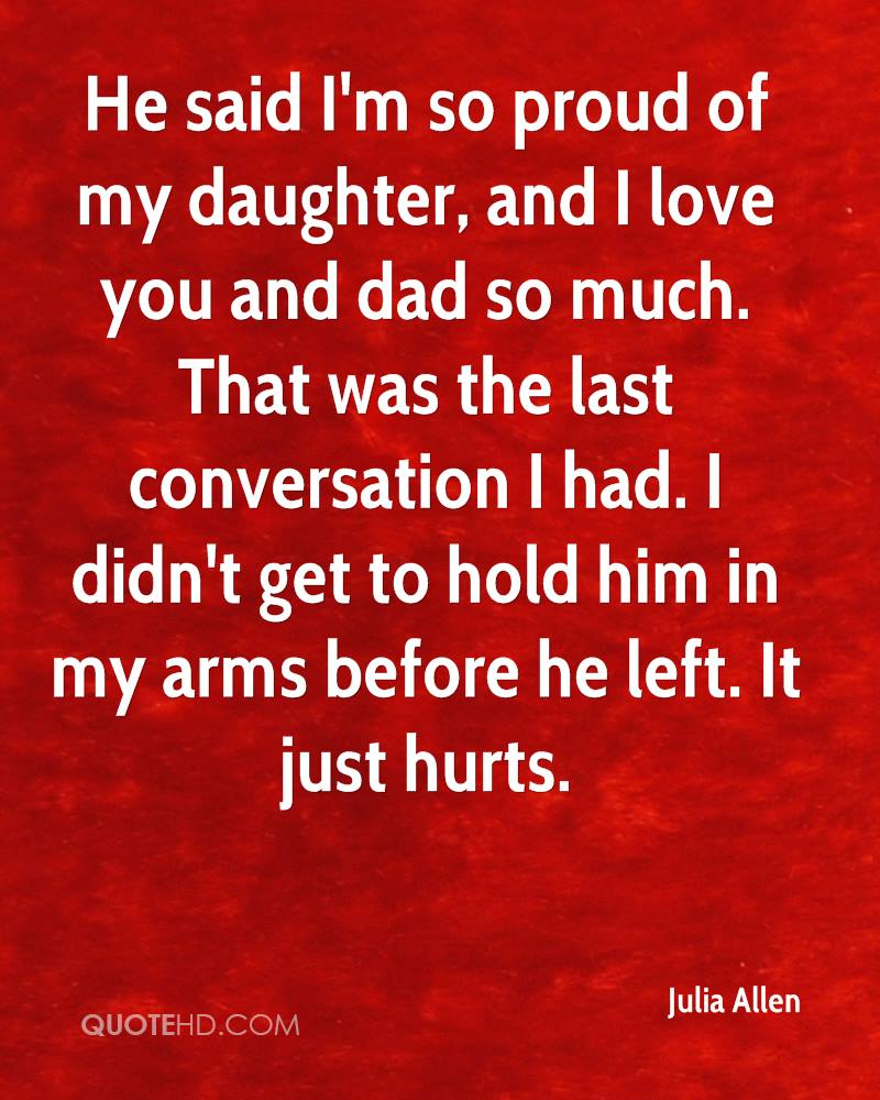Proud Of My Daughter Quotes Quotesgram
