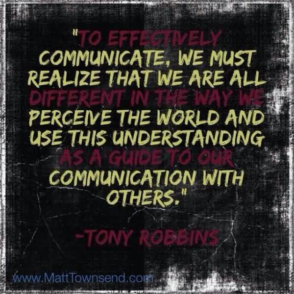 Anthony Robbins Quotes On Communication. QuotesGram