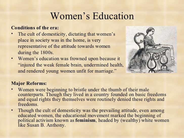 Women education essay