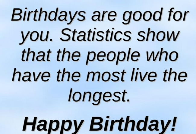 Happy Birthday For Him Funny ~ Funny birthday quotes for boyfriend quotesgram