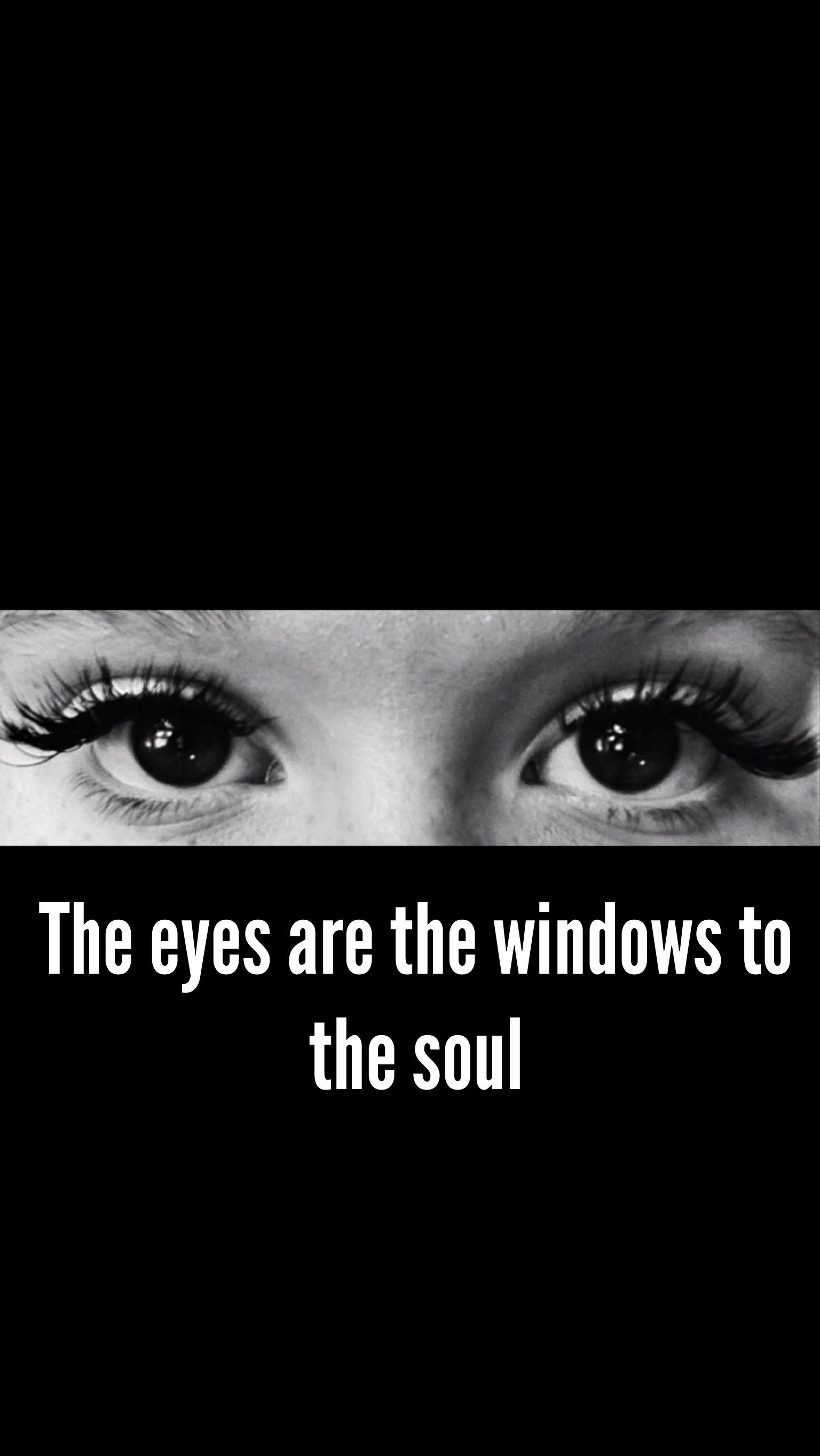Scientists discover that eyes really are 'the window to the soul'