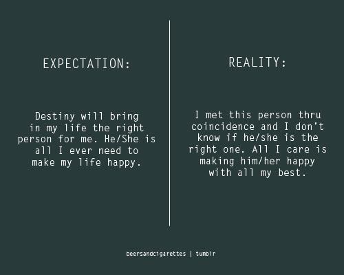 Life Quotes Expectations. QuotesGram