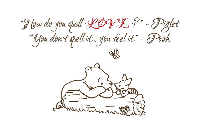 Eeyore Quotes About Love. QuotesGram Quotes From Winnie The Pooh About Love