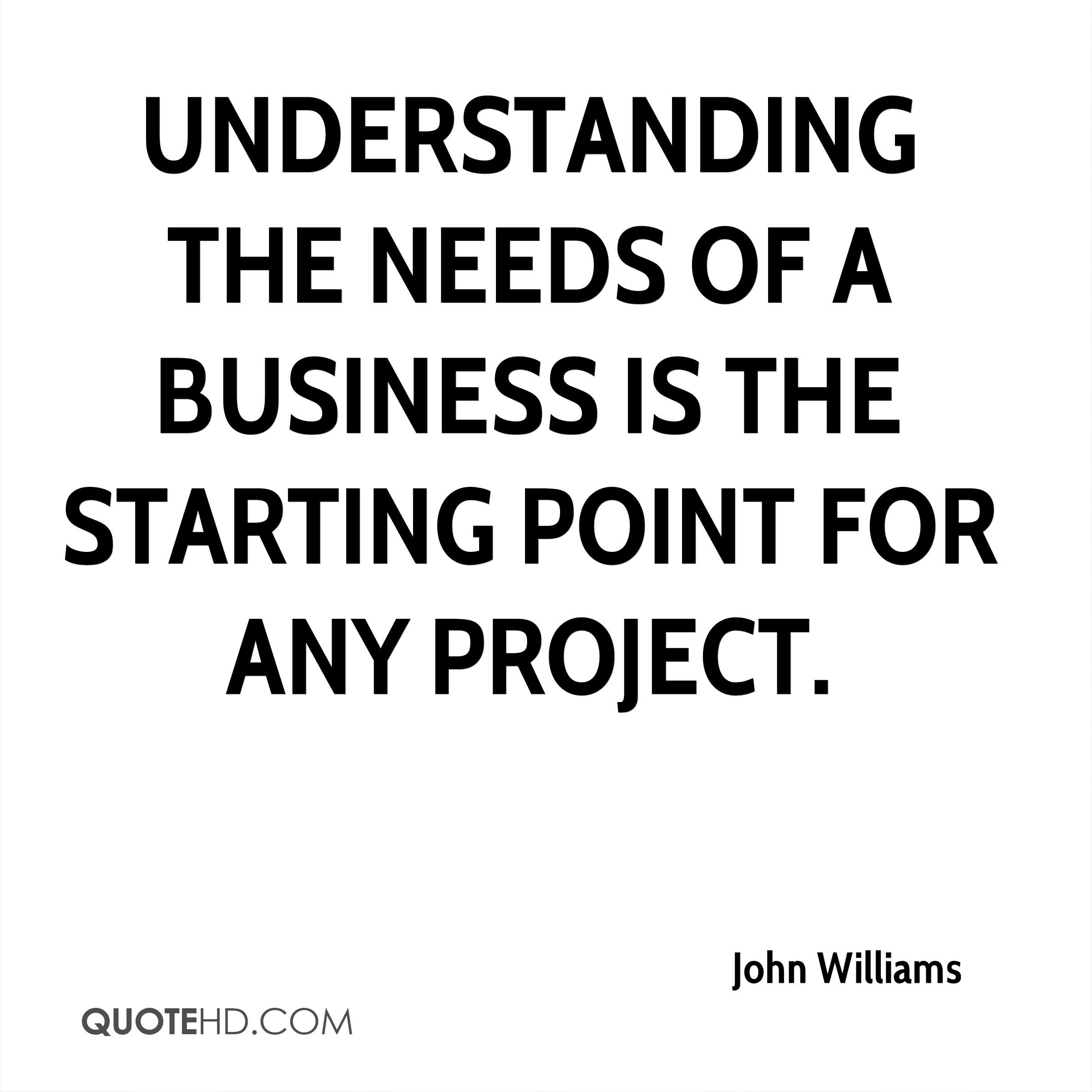 Famous Quotes For Business: John Williams Famous Quotes. QuotesGram