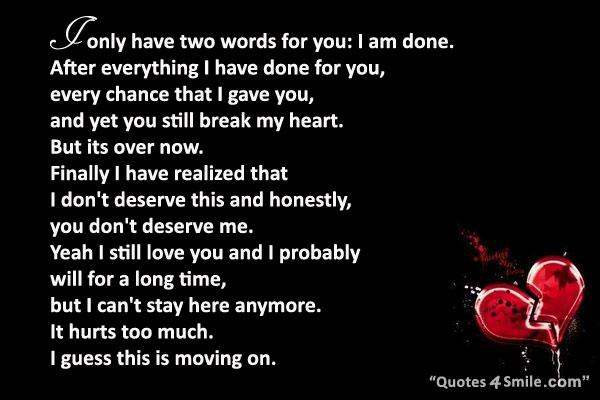 My heart messages u broke A Letter