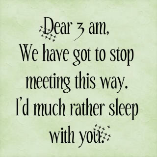 Quotes About Not Sleeping At Night