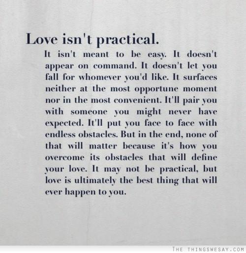 Love Isnt Easy Quotes. QuotesGram