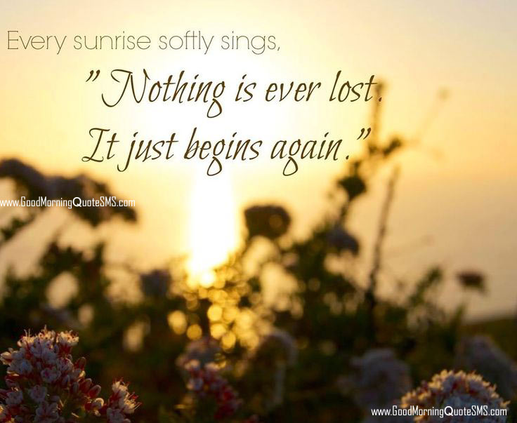 Love Quote For Him And Her Early Morning Sunshine: Sunrise Good Morning Quotes. QuotesGram