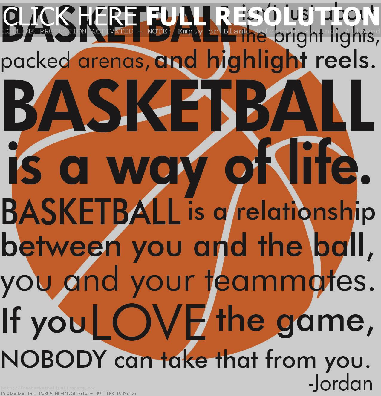 Girl basketball quotes and sayings