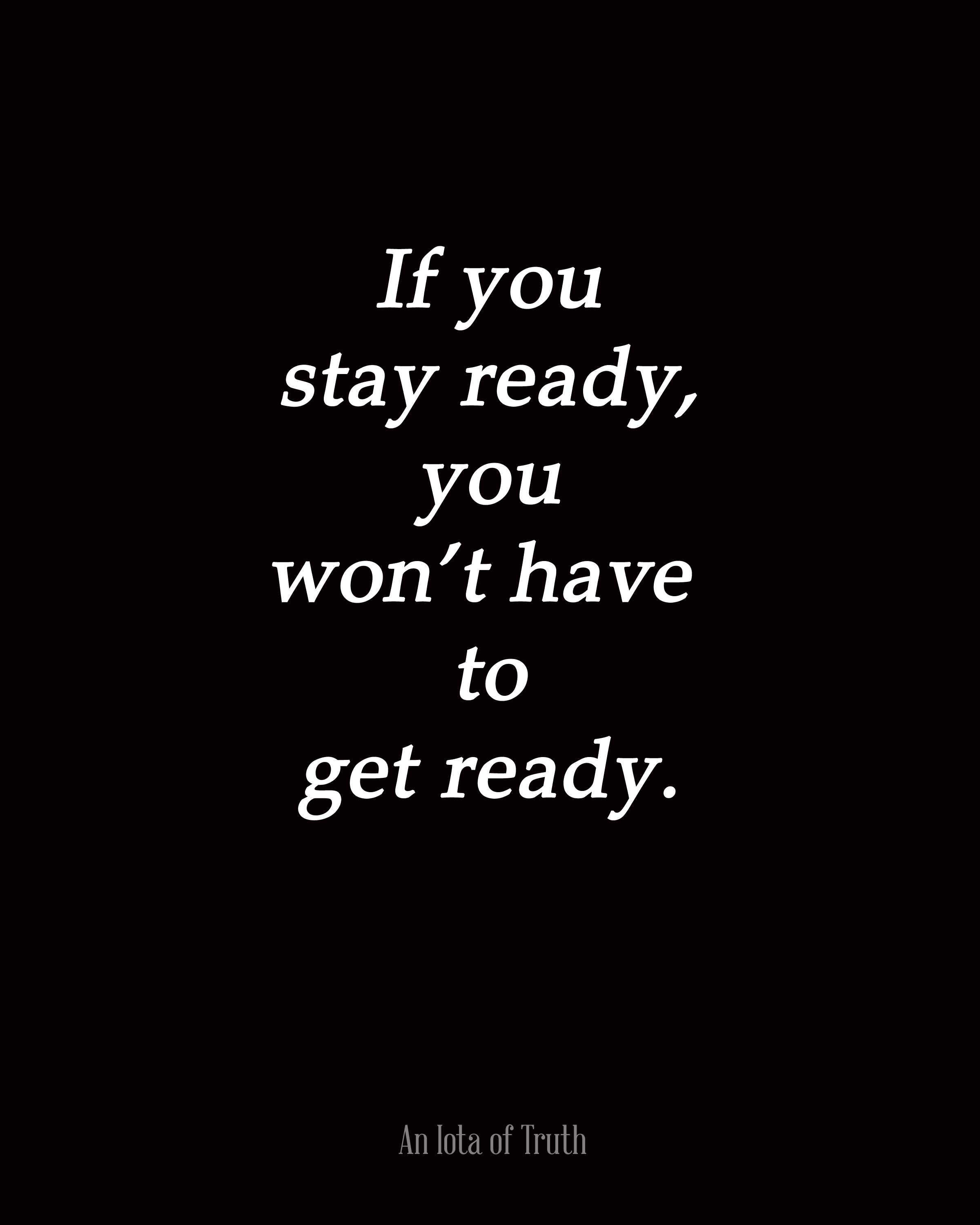 Ready Player One Quotes Love: Stay Ready Quotes. QuotesGram