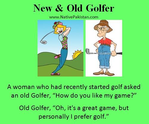 golf jokes humor golfer quotes golfing woman play slow rain game puns asks quotesgram coolpun