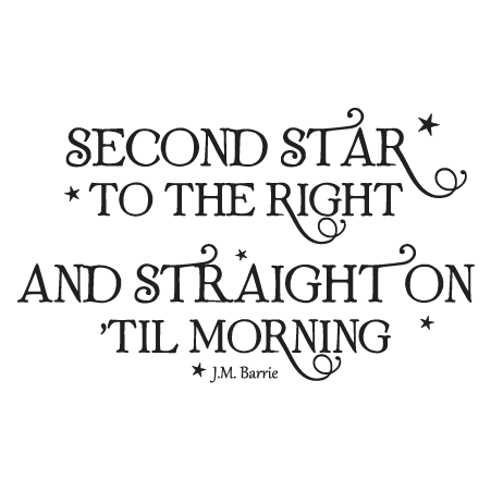 Peter Pan Wall Quotes Decal Quotesgram