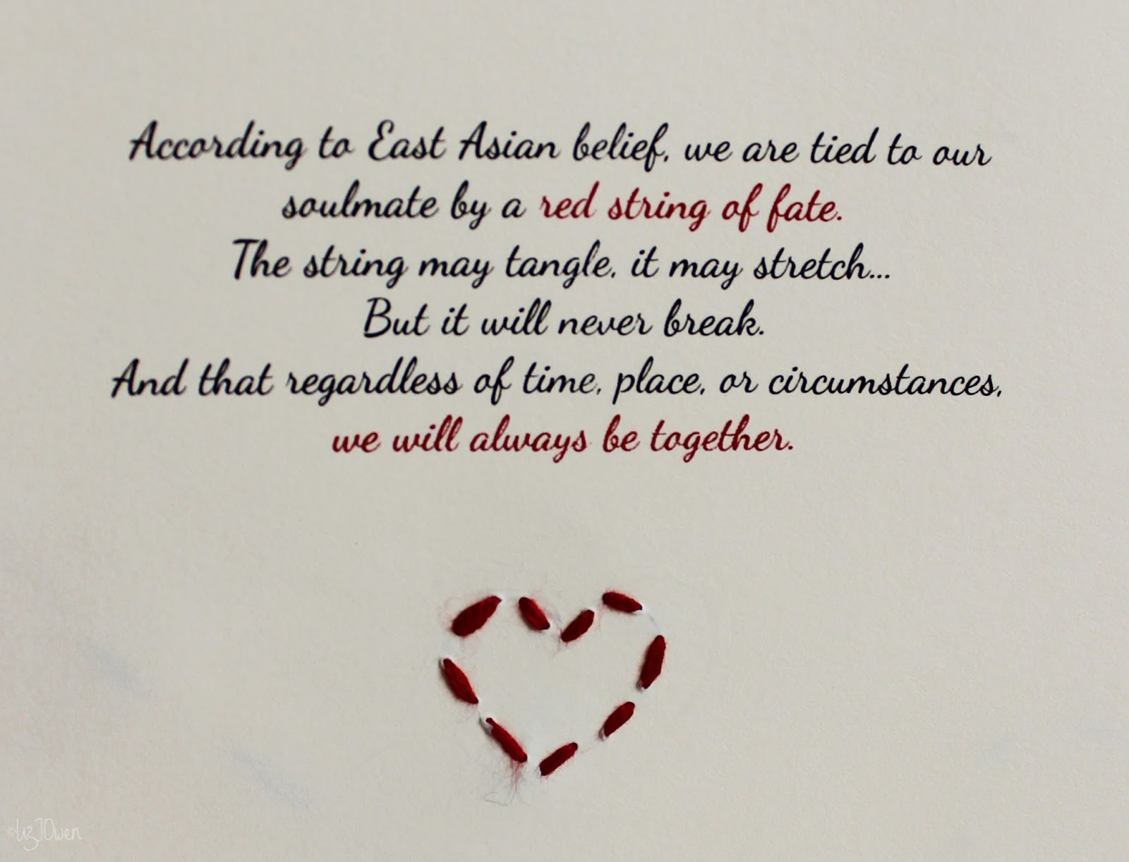 Red String Of Fate Quotes Quotesgram