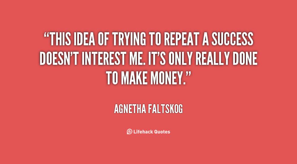 On Repeating Success Quotes. QuotesGram