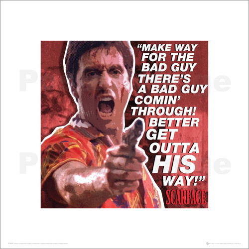 Bad Guy Scarface Quotes. QuotesGram | 500 x 500 jpeg 73kB