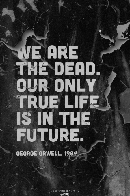 by simply George Orwell