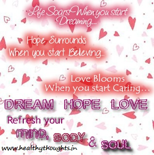 Love Dream Hope Quotes. QuotesGram