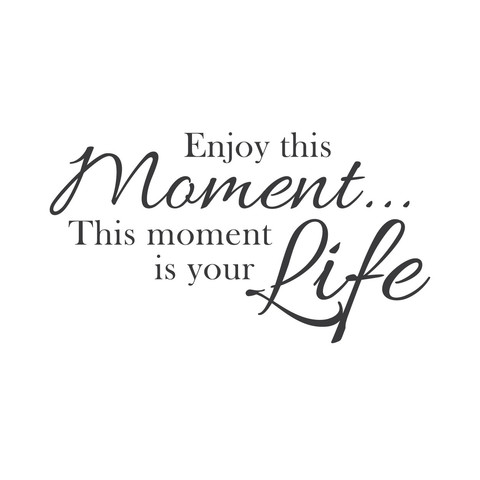 Enjoy The Moment Quotes Quotesgram