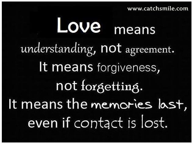 Understanding love quotes