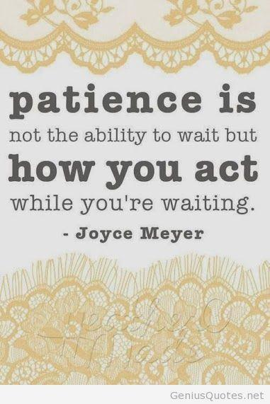how to keep patience in love