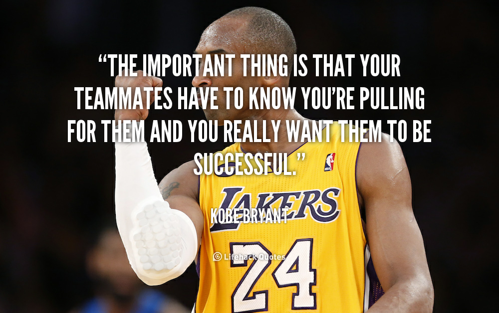 Motivational Quotes For Sports Teams: Kobe Bryant Inspirational Quotes. QuotesGram