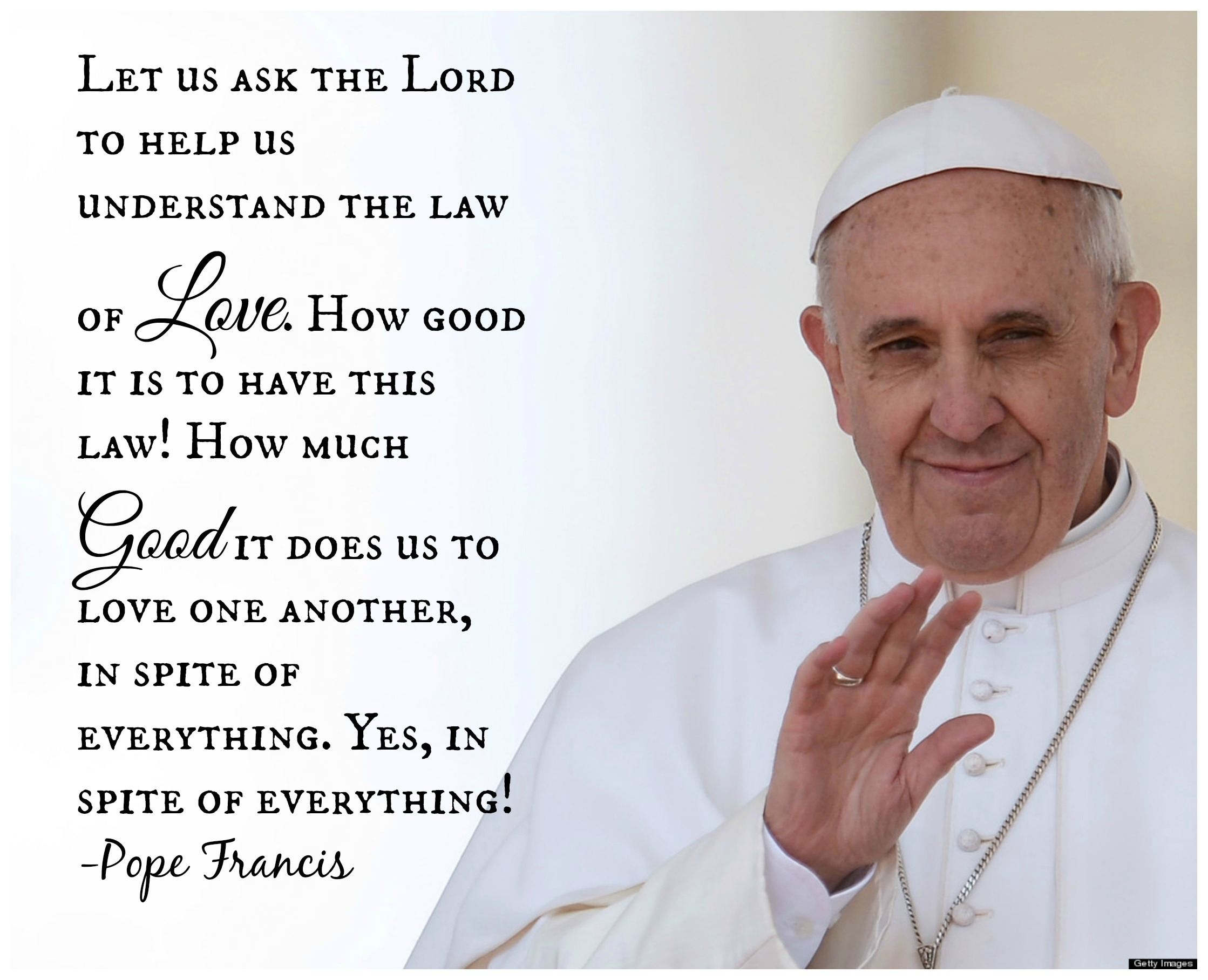 Quotes From The Pope: Quotes About Pope Francis Lent. QuotesGram