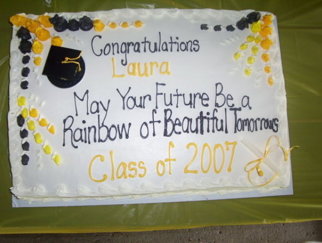 Messages For Graduation Cakes