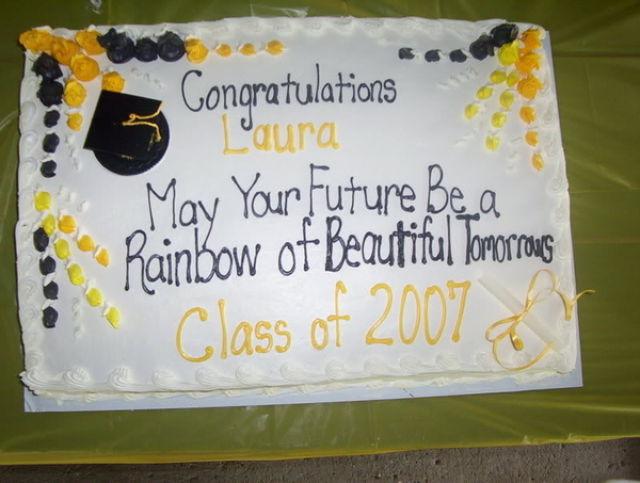 Congratulations Cake Decorating Ideas