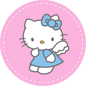Hello kitty tuesday images quotes quotesgram for Hello kitty cupcake topper template