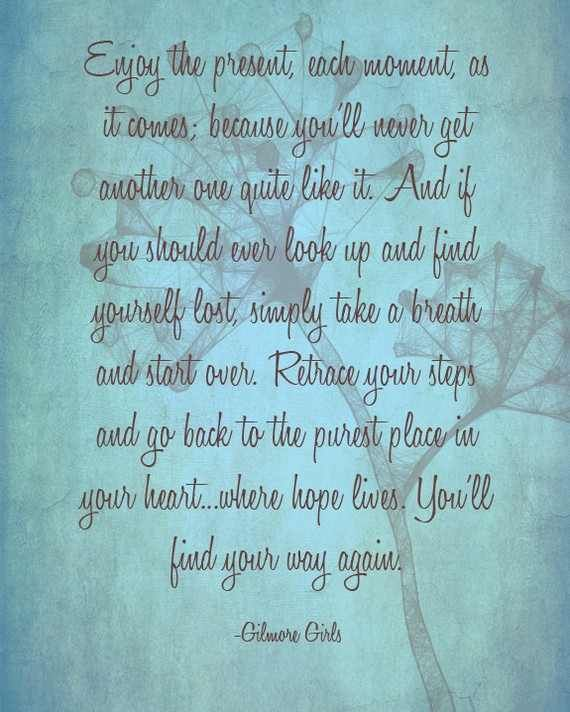 Motivational Inspirational Quotes: Gilmore Girls Quotes Inspirational. QuotesGram
