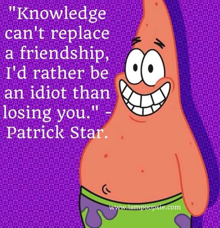 Friendship Quotes From Movies: Spongebob And Patrick Friendship Quotes. QuotesGram