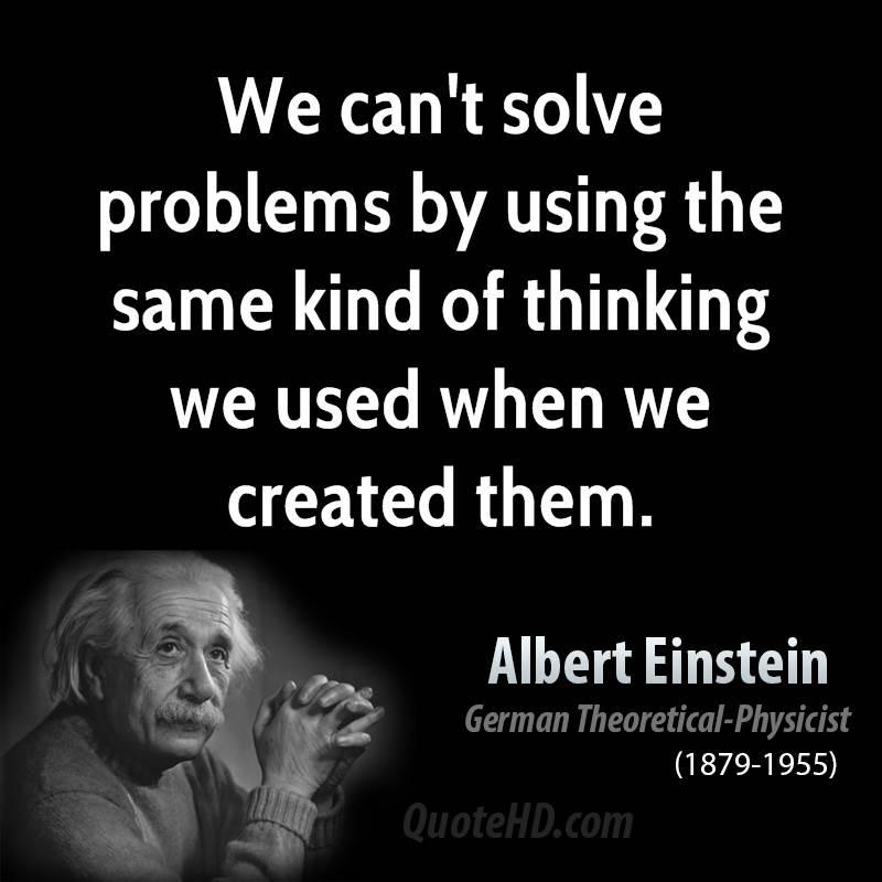 Problem Solving Einstein Quotes. QuotesGram