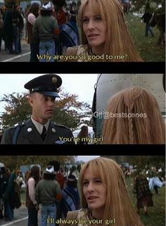 forrest gump jenny quotes peas and carrots quotesgram
