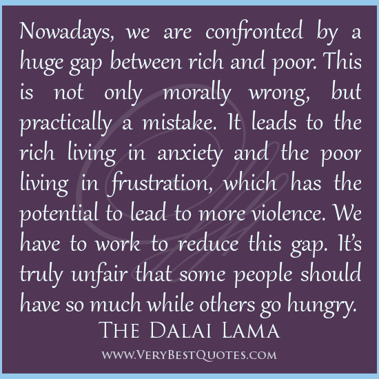 Quotes About The Rich And Poor: Quotes About Poor And Rich. QuotesGram