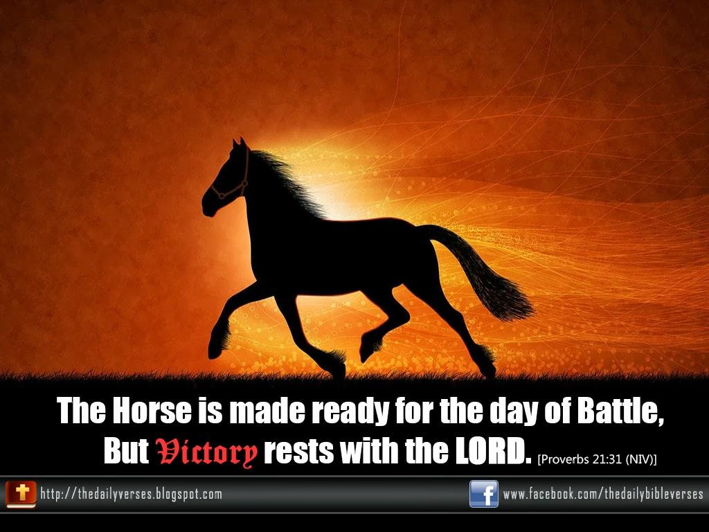 Horse Bible Quotes. QuotesGram